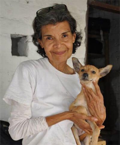 Gloria Ramirez Cortés, die Gründerin der Stiftung Cantoalavida